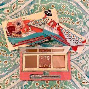 Pretty in the USA Benefit Blush, Bronzer & Brows